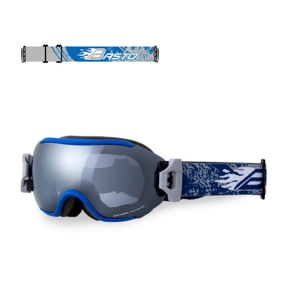 He-yanjing Skiing Goggles, Anti-Fog,UV Protection,Ski Snowboarding Goggles,Ski Goggles Men Women (Color : G) by He-yanjing