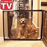 Magic Gate for Dogs Magic Gate Portable Folding mesh gate Guard Pet Safety Gate Safety Enclosure,Safe Guard for Pet,Baby Safety Fence,As Seen On TV