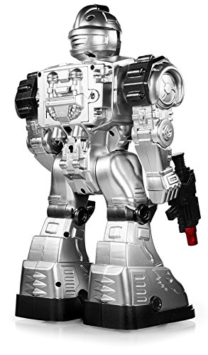 Best Robots For Kids >> Play22 Remote Control Robot Toy Robots For Kids Superb Fun Toy Toy Robot Shoots Missiles Walks Talks Dances With Flashing Lights 10 Functions