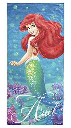 Disney Little Mermaid Ariel Splash 100% Cotton 28