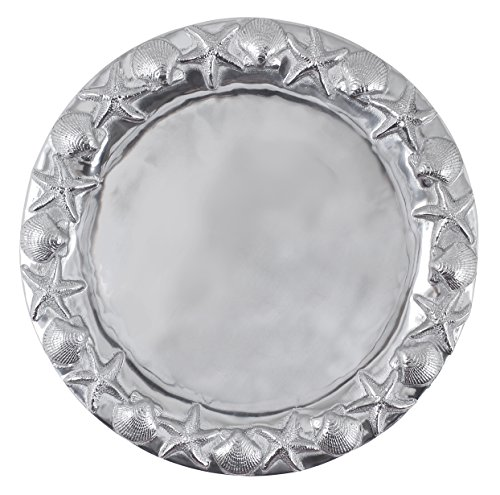 Mariposa Round Sea Border Platter ()