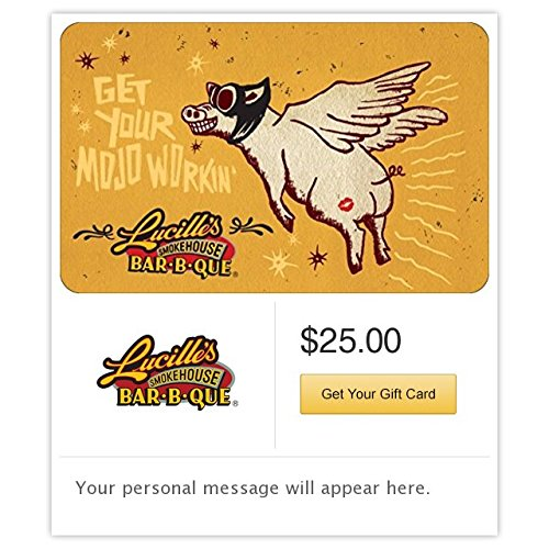 Amazon.com: Lucille's Smokehouse Bar-B-Que Pig Gift Cards ...