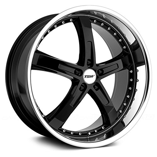 TSW Jarama Custom Wheel Gloss - Black with Mirror Cut Lip 18