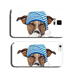 sleepyhead dog tired cell phone cover case Samsung S6
