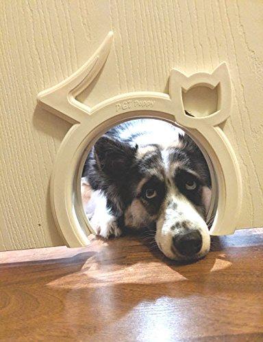 Interior Cat Door Hole   By Pet Peppy