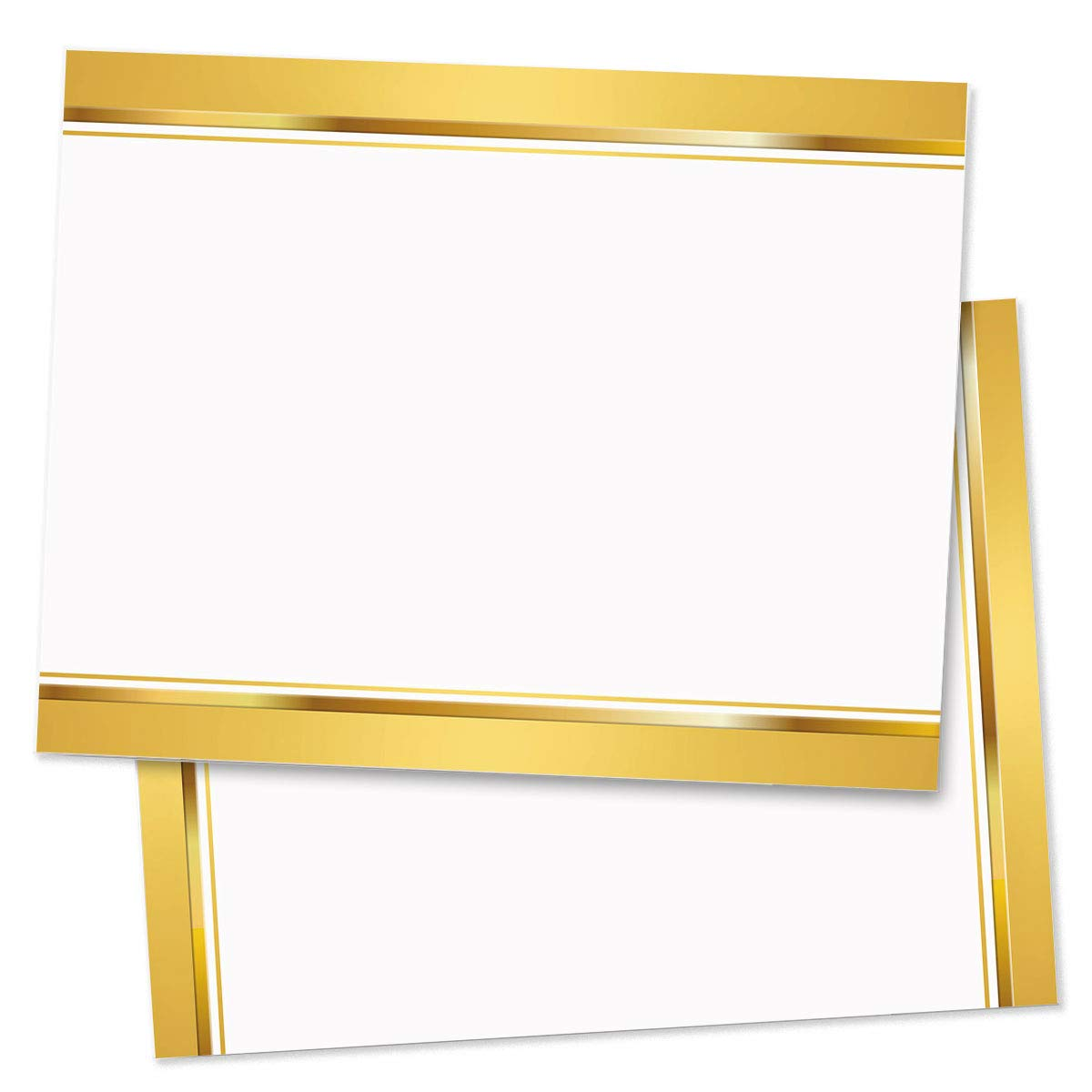 Golden Postcards, Standard Size, 100 Count by PaperDirect