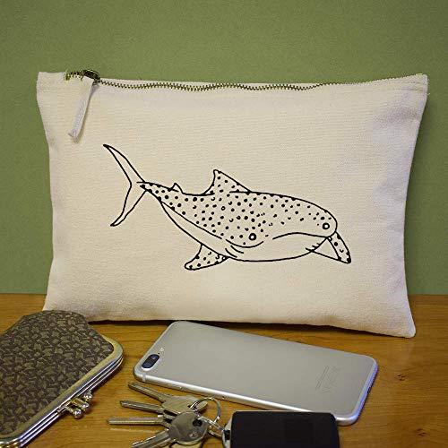 Accesorios Azeeda De Case cl00011357 Ballena' Embrague 'tiburón Bolso RZrWxZXFp