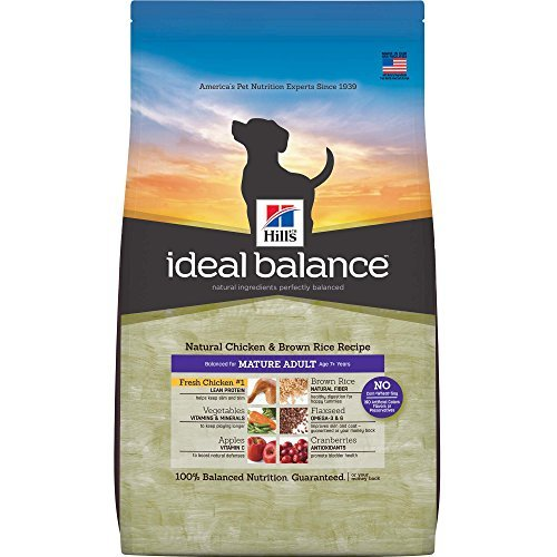 Cheap Hill's Ideal Balance Mature Adult Natural Chicken & Brown Rice Recipe Dry Dog Food, 15-Pound Bag by Hill's Ideal Balance
