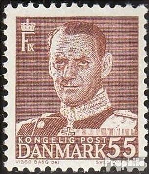 Briefmarken Dänemark Verschiedene Stile Europa