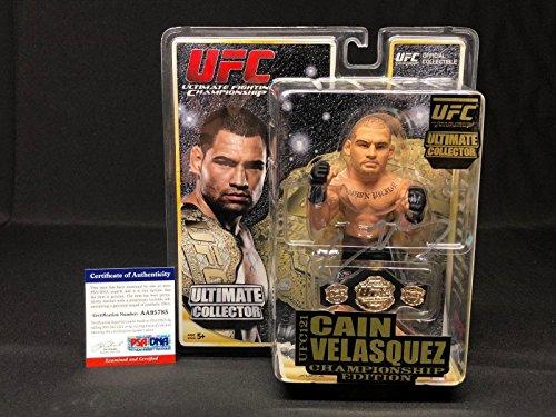 Cain Velasquez Signed UFC Championship Edition Action Figure AA95785 - PSA/DNA Certified - Autographed UFC Miscellaneous Products (Best Of Cain Velasquez)