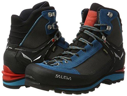 Salewa Women's Crow GTX Mountaineering Boot, Black/Hot Coral, 9.5 by Salewa (Image #5)