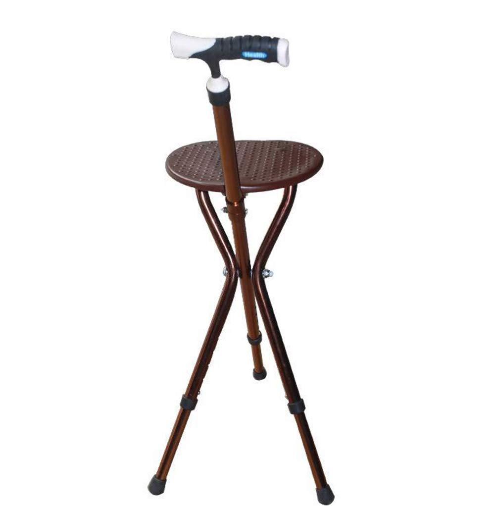 杖シート折り畳み三脚座席シート多機能スマート杖ポータブル   B07RKQ1H89
