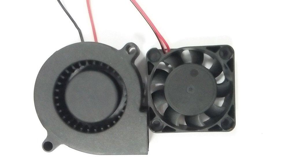 HICTOP 3D estrusore stampante Turbo ventola di raffreddamento ventilatore di CC 24V 0.9M cablaggio 50mm x 15mm Fan N4010 3D Parti della stampante (2 confezioni) UKF-3D-FS 24V