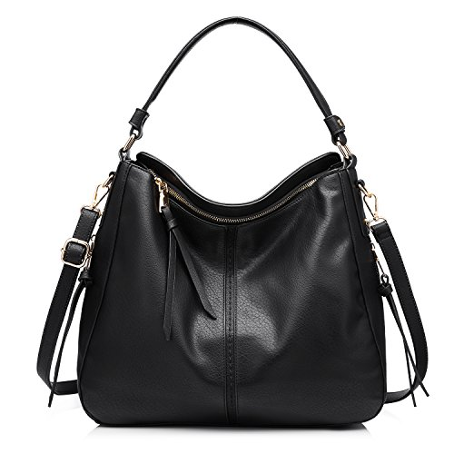 Shoulder Bags for Women Large Ladies Crossbody Bag with - Medium Hobo Leather Handbag
