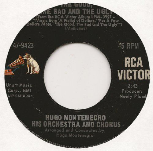 The Good, The Bad And The Ugly / March With Hope (1967 45rpm)