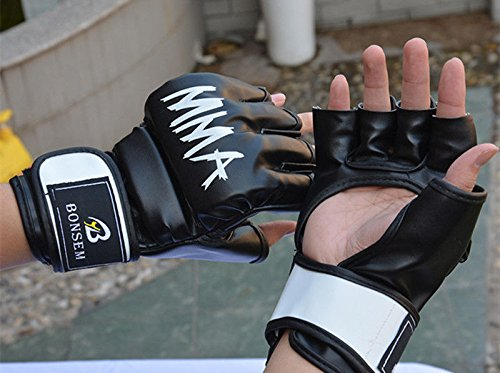 Thai Muay Gym Punching Gloves Boxing Glove Training Sparring Designs For Mma Or Any Adjustable Nice Flexibilty & Prevent Sweating