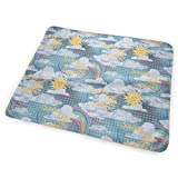 My Nursery Crib and Changing Station Dy27sdsmat You are My Sunshine Portable Diaper Changing Pad - Makes Any Surface A Changing Station - Great Baby Showers - Ideal Your Infant, Newborn Toddler