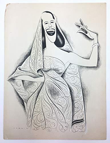 [Pons, Lily. (1898?1976)] Norkin, Sam. (1917?2011): Original Caricature Portrait