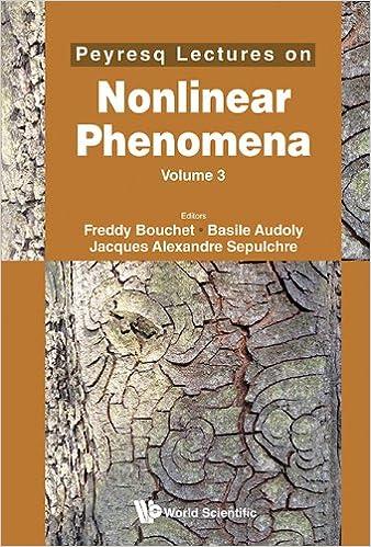 Peyresq Lectures on Nonlinear Phenomena