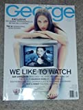 George Magazine (Special Media Issue / May 1998 - Christy Tuirlington Cover - Did George Stephanopoulos Betray Bill Clinton ?)
