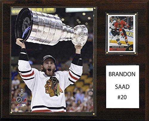 NHL Chicago Blackhawks Brandon Saad 12 x 15-Inch Player (Nhl Chicago Blackhawks Framed)