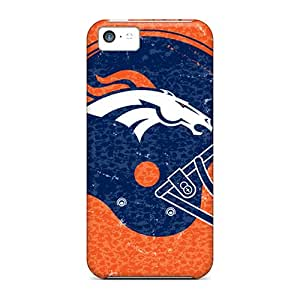 Tpu Fashionable Design Denver Broncos Rugged Case Cover For Iphone 5c New