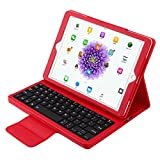 OLSUS Folding Wireless Keyboard for IPAD Air/Air 2/Pro2 9.7''- Red
