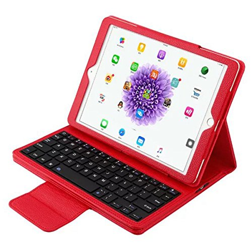 OLSUS Folding Wireless Keyboard for IPAD Air/Air 2/Pro2 9.7''- Red by OLSUS