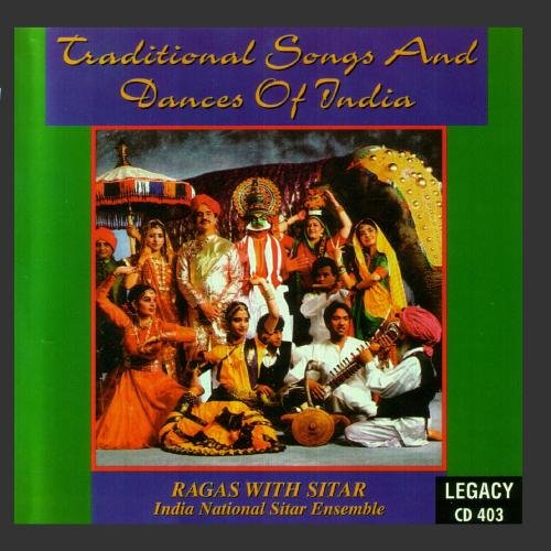 (Traditional Songs and Dances of India - Ragas With Sitar)