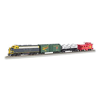 Bachmann Trains - Thunder Chief DCC Sound Value Ready To Run Electric Train Set - HO Scale: Toys & Games