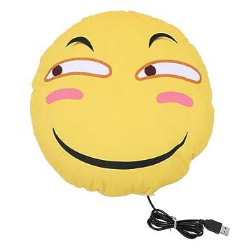 Diyeeni Almohada Linda Emoji Divertido Emoticon Cojín Alivio ...