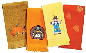 Thanksgiving Hand Towels by Miles Kimball