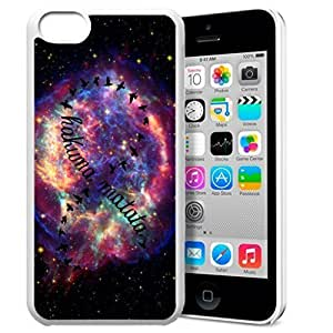 Diy design iphone 6 (4.7) case, Africa Ancient Proverb HAKUNA MATATA Color Accelerating Universe Star Design Pattern HD Durable Hard Plastic Case Cover for iPhone 6