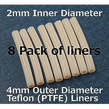 FLASHFORGE 3D Printer Teflon Tube For Nozzle (8 pack of liners)