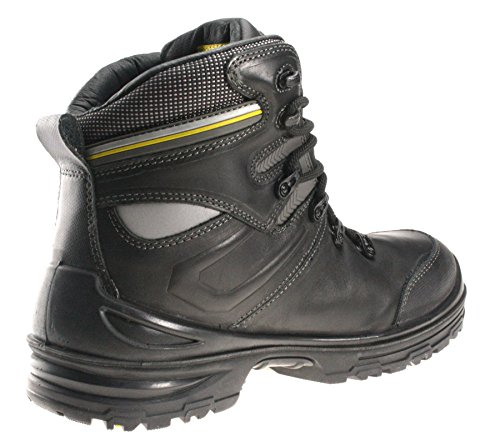 de lacets cuir travail Semelle Noir Safety Bottes nbsp;Embout en pour Jogger à Premium S3 homme xYYa8q7