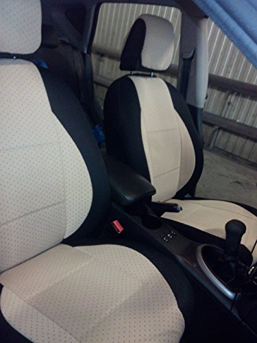 Two Front Velour Middle Synthetic Sides Custom Car Seat Covers Fits On Mitsubishi Asx Rvr