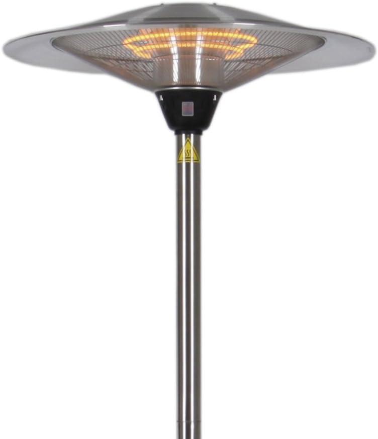 Estufa Altura Regulable 210 cm de calefacción – Foco de jardín terraza Stand (: Amazon.es: Bricolaje y herramientas