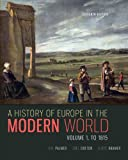 A History of Europe in the Modern World, Volume 1, R. R. Palmer and Joel Colton, 0077599608