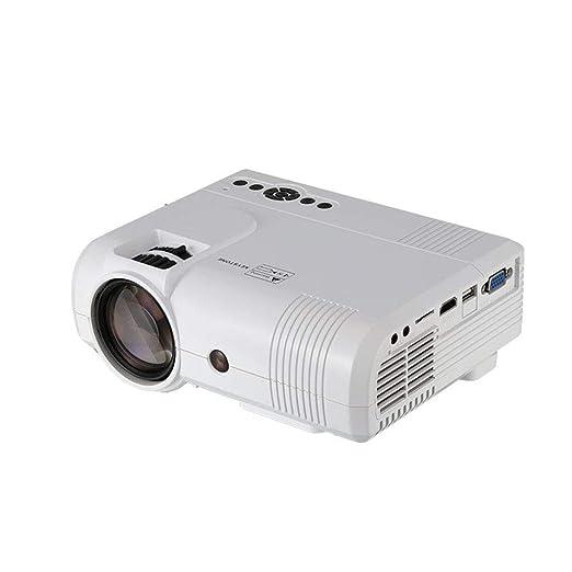 El Mini Proyector Portable Proyector Casero con 1080P Full HD Y ...