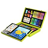 Children's Painting Tool Set Color Pencil Crayon Oil Pastels Watercolor Brush Gift Box Children Students Watercolor Pen Art Stationery Supplies Birthday Gift Christmas Gifts