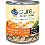 Nature's Recipe Pure Essentials Grain Free Chicken Recipe in Broth (24 Pack), 10 oz