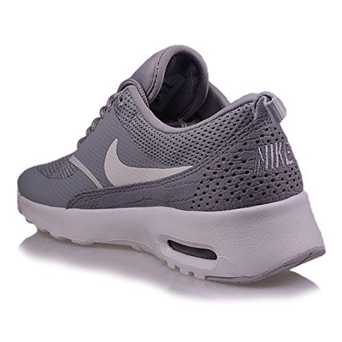 Nike Shoes Wmns Air Max Thea Argento Opaco (599409-021) Bianco-grigio