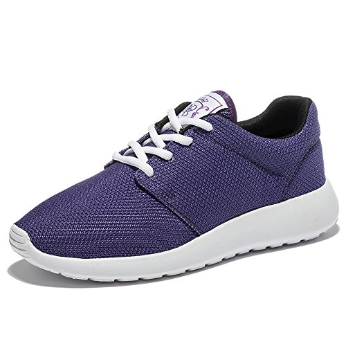 WOTTE Women's Training Shoes Fitness Or Gym Exercise (7 B(M) US, Purple)