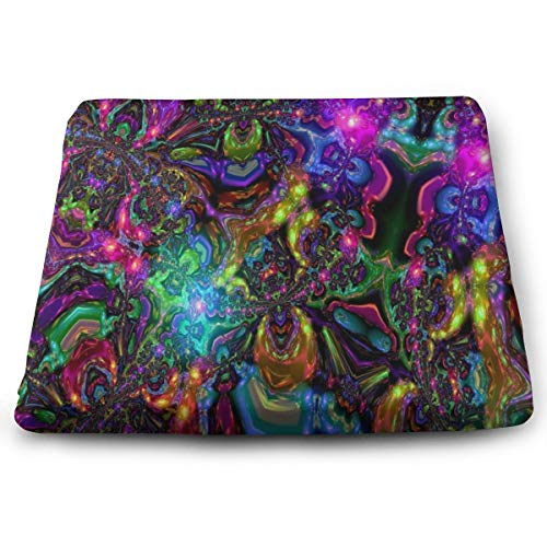 Ladninag Seat Cushion Trippy Best Chair Cushion Offices Butt Chair Pads for Cars/Outdoors/Indoor/Kitchens/Wheelchairs ()