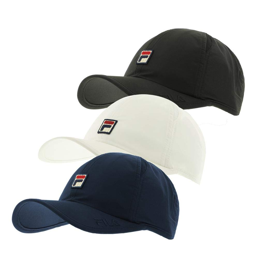Fila Unisex Performance Solid Runner Hat, White: Amazon.es: Ropa y ...