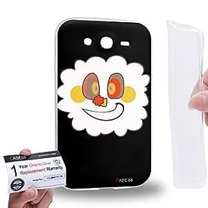 Case88 [Samsung Galaxy Grand Duos i9082 i9080] Gel TPU Carcasa/Funda & Tarjeta de garantía - Puella Magi Madoka Magica Witch Charlotte 1048