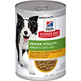 Hill's Science Diet Adult 7+ Senior Vitality canned