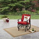 Mainstays Belden Park Cushioned Glider Chair (Rio Red)