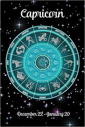 December 22 2019 Zodiac Calendar Zodiac Undated Weekly Planner   Capricorn December 22   January 20