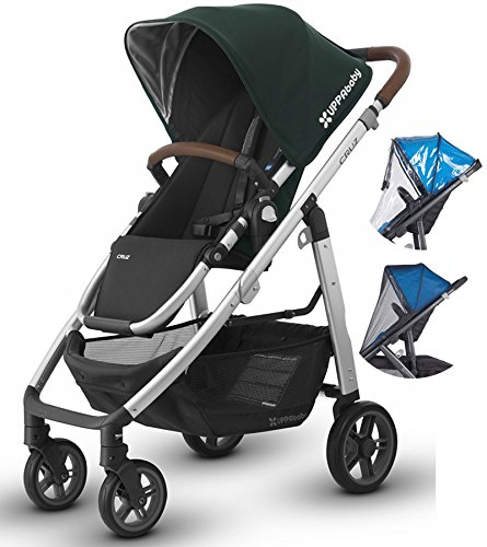Uppababy Cruz 2017 Stroller with Rain Shield and Bug Shield (Austin)
